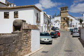 Calle Real in Ronda — Stock Photo