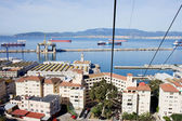 Gibraltar Town and Bay — Stock Photo