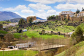 Andalusia Landscape — Stock Photo