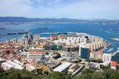 Gibraltar Town and Bay — Stock Photo