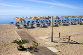 Marbella Holiday Beach — Stock Photo