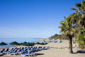 Beach in Marbella — Stock Photo