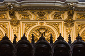 Mezquita Cathedral Choir Stalls Details — Stock Photo