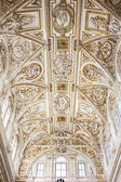 Mezquita Cathedral Ceiling — Stock Photo