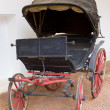 Antique Spanish Horse Carriage - Stock Photo