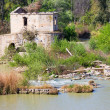 Guadalquivir River Ruins in Cordoba — Photo