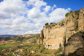 Ronda Cliffs in Andalusia — Stock Photo