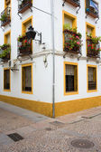 House in Cordoba Jewish Quarter — Stock Photo