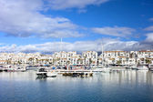 Puerto Banus Marina on Costa del Sol — Stock Photo