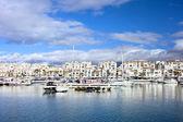 Puerto Banus Marina on Costa del Sol — Stock Photo