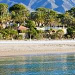 Marbella Beach Summer Holiday Scenery — Stock Photo