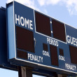 Scoreboard — Stock Photo