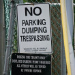 No Dumping Sign — Stock Photo #11572261