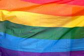 Gay pride vlajka — Stock fotografie