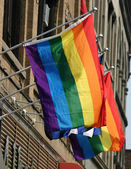 Gay-Pride-Flaggen — Stockfoto