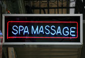 Massage Sign — Stock Photo