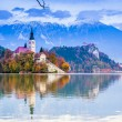 Bled with lake, Slovenia, Europe — Stock Photo #11759355