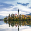 Bled with lake, Slovenia, Europe — Lizenzfreies Foto