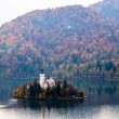 Bled with lake, Slovenia, Europe — Stockfoto