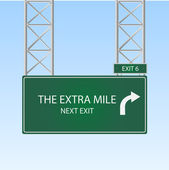 The Extra Mile — Vecteur