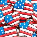 愛国心が強いクッキー — ストック写真