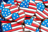 Patriotic cookies — Stock fotografie