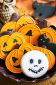 Halloween cookies — Foto Stock