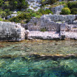 Royalty-Free Stock Photo: Sunken Lycian city on the Kekova island, Turkey