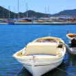 Boat and yachts, near Kekova island, Turkey — Stock Photo
