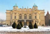Teater i krakow, polen — Stockfoto