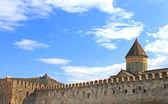 View of Lvari and Svetitskhoveli Cathedral in Mtskheta, Georgia — Stock Photo