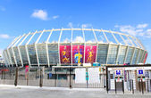 Olympic stadium (NSC Olimpiysky) - main stadium of Euro-2012 football championship — Stock Photo