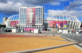 Olympic stadium (NSC Olimpiysky) - main stadium of Euro-2012 football championship — Foto de Stock