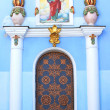Old iron door of Mikhalovskiy cathedral in Kiev, Ukraine — Stock Photo #11384854