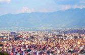 View of Kathmandu, capital city of Nepal — Stock Photo