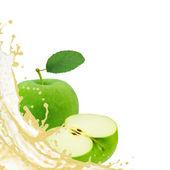 Frutta con splash — Foto Stock