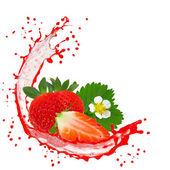 Frutas com esguicho — Foto Stock