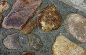Pista de la piedra natural — Foto de Stock