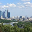"Moscow River and areof ""Moscow City"" — Stock Photo #10792639"