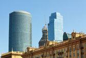 Combinação de estilos arquitetônicos — Fotografia Stock