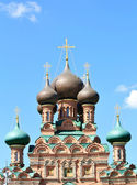 Churches domes — Stock Photo