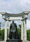 Monument till alexander ii befriare — Stockfoto