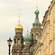 Church of the Savior on the Spilled Blood in St. Petersburg — Stock Photo