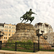 Monument to Bohdan Khmelnytsky in Kiev — Stock Photo