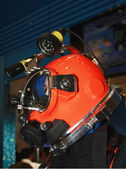 Helmet of diver — Stock Photo