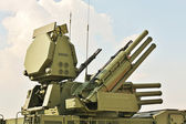 "Weapons of anti-aircraft defense "" Pantsir-S1"" — Stock Photo"
