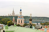 View on Sparrow Hills in Moscow — Stock Photo