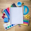 School tools - Stock Photo