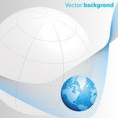 Finance business brochure background — Stock Vector
