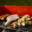 Stock Photo: Grilling time!